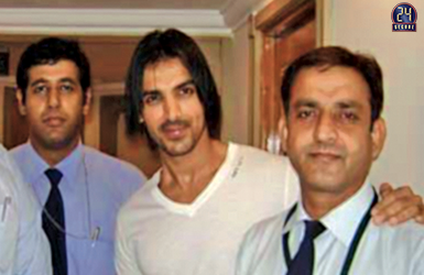 Security Detail for Actor John Abraham