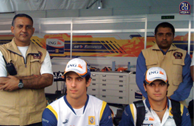 Security Detail for Formula 1, 2009
