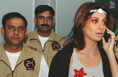 Security Detail for Actress Shipla Shetty